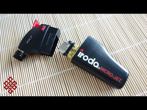 Iroda Jet Lighter Review - LIGHTER INCEPTION!