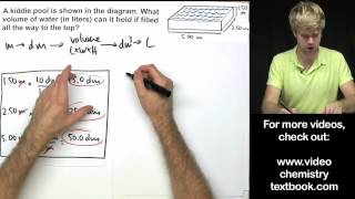Converting Metric Units Of Volume