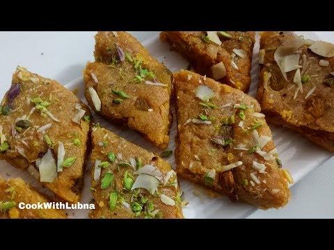 Chane Ki Dal Ki Barfi ( Authentic Recipe ) / Chana dal Halwa Recipe
