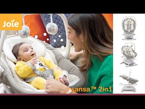 Joie Sansa 2 in 1 Swing & Rocker - Direct2Mum