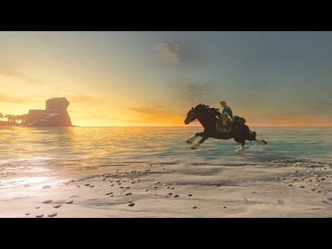Legend of Zelda: Breath of the Wild - Taming Wild Horses
