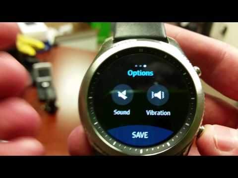 Samsung Gear S3 Alarm Clock -- Smartwatch Nerd
