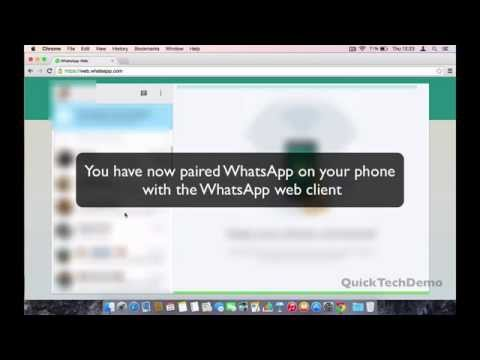 How to access WhatsApp in web browser