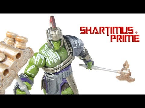 Marvel Legends Gladiator Hulk BAF Thor Ragnarok Movie Build A Figure Hasbro Action Figure Toy Review