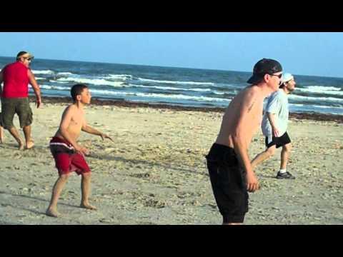 Carson's Beach Touchdown