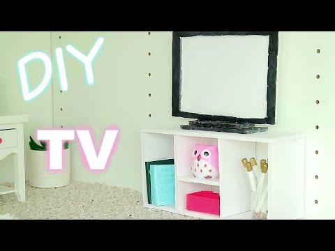 DIY Doll Sized TV \\ Doll Decor