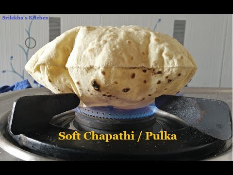 How to Make Soft Chapathi (చపాతీ) | Roti | Pulka in Telugu by Srilekha's Kitchen