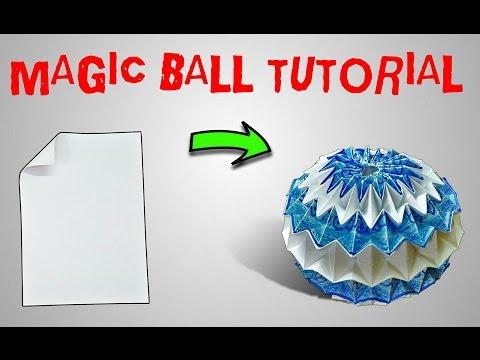 ORIGAMI MAGIC BALL TUTORIAL: PART 2
