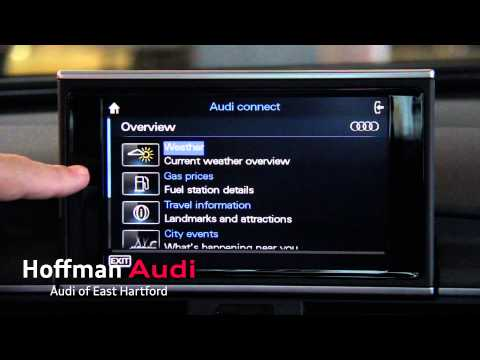 Audi Connect: Wi-Fi In Your Car