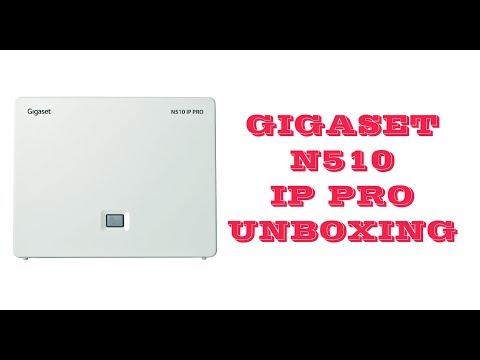 GIGASET N510 IP PRO Unboxing