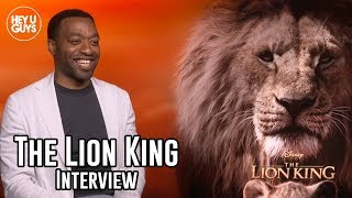 Chiwetel Ejiofor (Scar) Interview - The Lion King