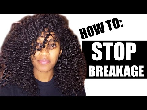 How to Stop Breakage on Natural Hair|Retain Length