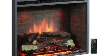 PuraFlame Western 33 inch Electric Fireplace Insert - Is This The Best Yet?