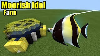 How to Make a Moorish Idol Farm | Minecraft PE