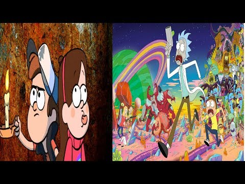 Is Rick and Morty in Gravity Falls?!?