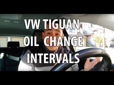 VW/Volkswagen Tiguan Oil Change Interval. How Often/Many Miles/Km Your VW Needs an Oil Change