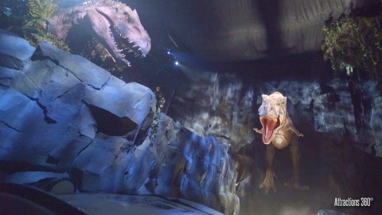 NEW Ride - Jurassic World Ride at Universal Studios Hollywood