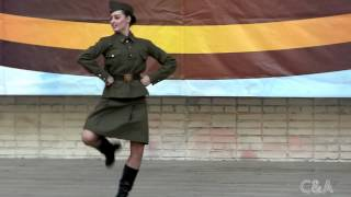 Katyusha dance War Army solo Военный танец Катюша сольный