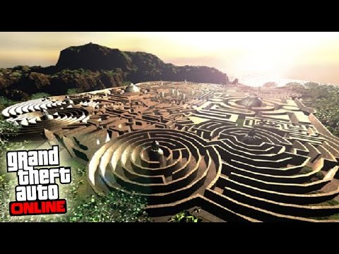 LABERINTO 100% IMPOSIBLE! - Gameplay GTA 5 Online Funny Moments (Carrera GTA V PS4)