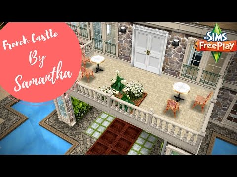 Modern French Castle By Samantha | Sims FreePlay