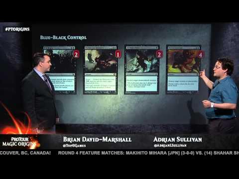 Pro Tour Magic Origins: Deck Tech: Blue Black Control with Adrian Sullivan