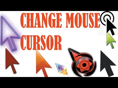 how to change mouse cursor in windows 7/8.1/10 in 2017