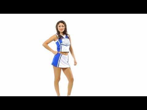 Cheerleader Uniform Top & Skirt | CF1524 CF2257