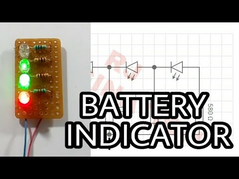 Battery level Indicator |make easily at home