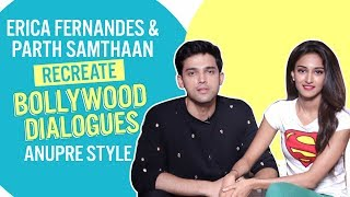 How well do Parth Samthaan and Erica Fernandes know Anurag and Prerna? | Kausautii Zindagii Kay