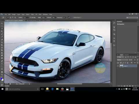 Photoshop CS6   Changing the Background