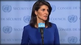 OH MY! WHAT NIKKI HALEY JUST DID THE UNITED NATIONS HAS TRUMP CHEERING LIKE CRAZY!