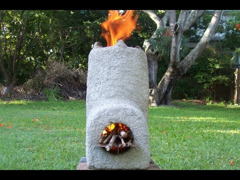 Rocket Stove Easy Build