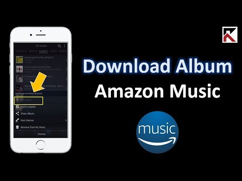 How To Download Albums Amazon Music