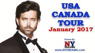 Hrithik Roshan USA & Canada Tour Promo
