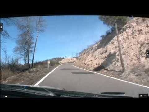 Onboard Kubica rally Catalunya-costa Daurada ss5 2015