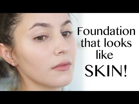 Skin-like Natural Foundation Routine