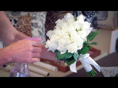 How to Make a Rose Bouquet Floristry Tutorial