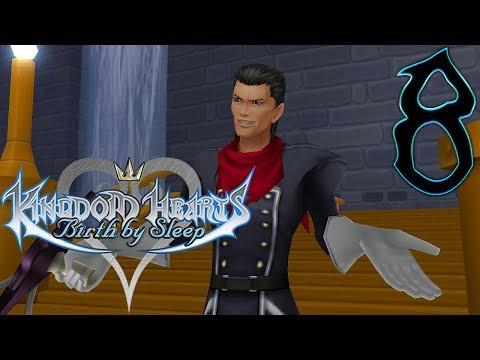 Kingdom Hearts Birth By Sleep Walkthrough Part 8 Terra Radiant Garden [2/2] (Let's Play Gameplay)