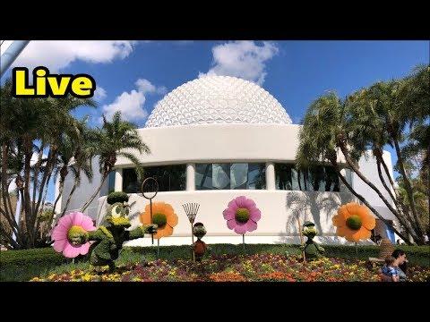 Epcot Live Stream - 3-2-18 - Walt Disney World - ResortTV1