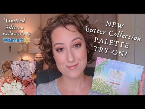 NEW Physician's Formula Butter Collection Palette TRY-ON! *LE @ WalMart | DreamsofMusicandMakeup
