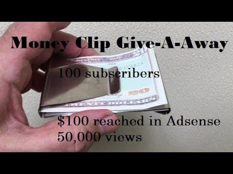 100 subs $100 dollars 50,000 views give a way