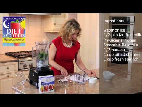 Chocolate Covered Cherry Smoothie Recipe for Weight Loss