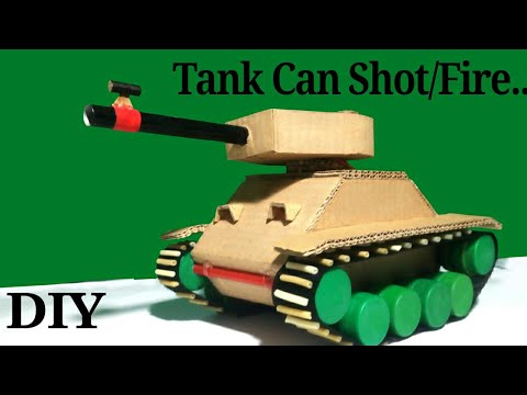 How to make a Tank That Can Shot/Fire...