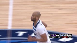 1st Quarter, One Box Video: Minnesota Timberwolves vs. Los Angeles Lakers