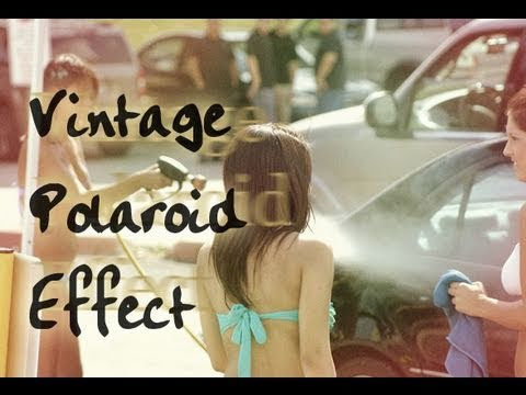 Photoshop - Vintage Polaroid Effect