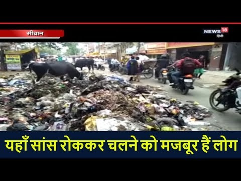 Bihar: जगह-जगह लगे हैं कचरे के ढेर, सांस रोककर चलने को मजबूर हैं लोग