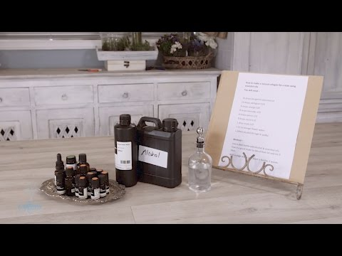 How to make a Natural Cologne for a Man using Essential Oils