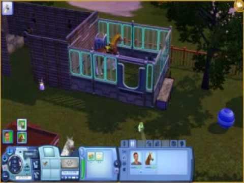 Sims 3 Pets: Breeding my Horses