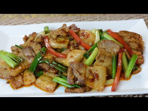 Twice Cooked Pork / 回锅肉