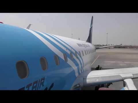 boarding Egyptair Flight MS395 from Cairo to Aswan